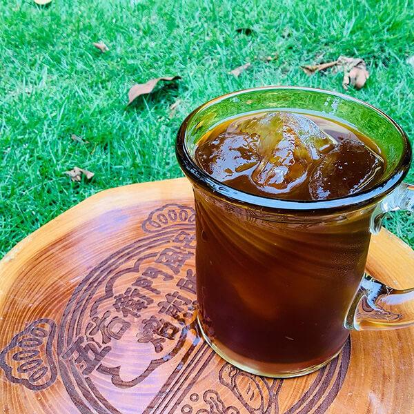 ナミニココーヒーのアイスコーヒー