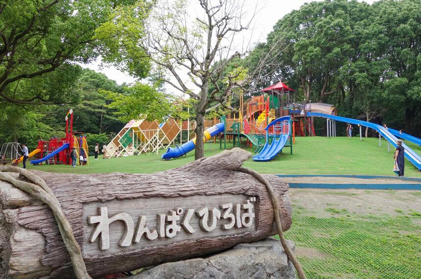 平塚市総合公園のわんぱく広場