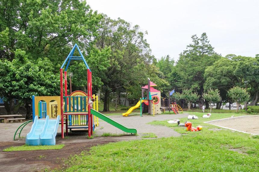 北駐車場近くにある子供広場