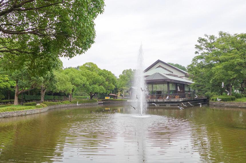 平塚市総合公園のレストラン大原