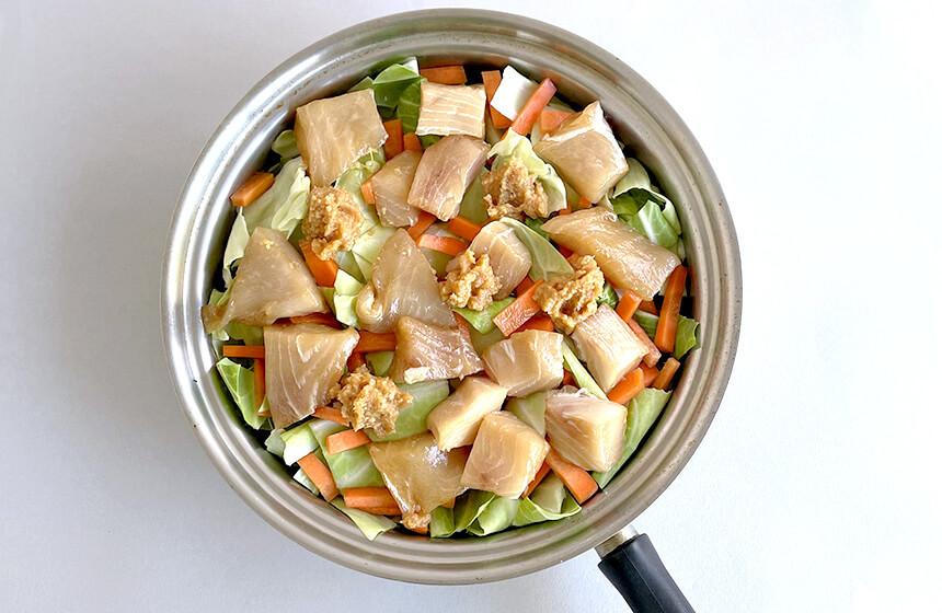 重ね煮の料理