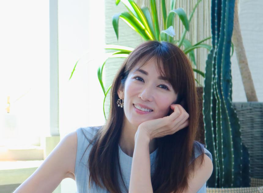 大河内奈々子さん 女優/フラワースタイリスト