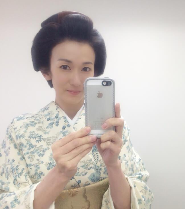 時代劇に出演した時の大河内奈々子さん