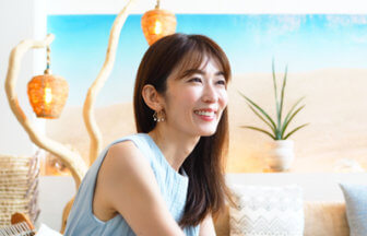 大河内奈々子さん 女優 フラワースタイリスト