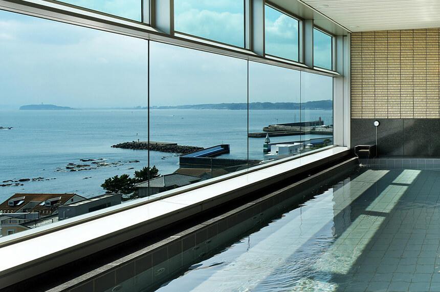 葉山『うみのホテル』の人工温泉