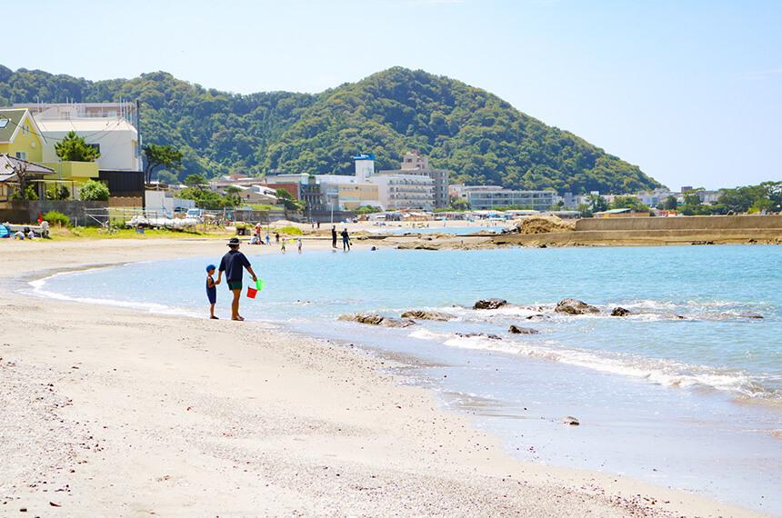 葉山『うみのホテル』目の前の海はお遊びスポット