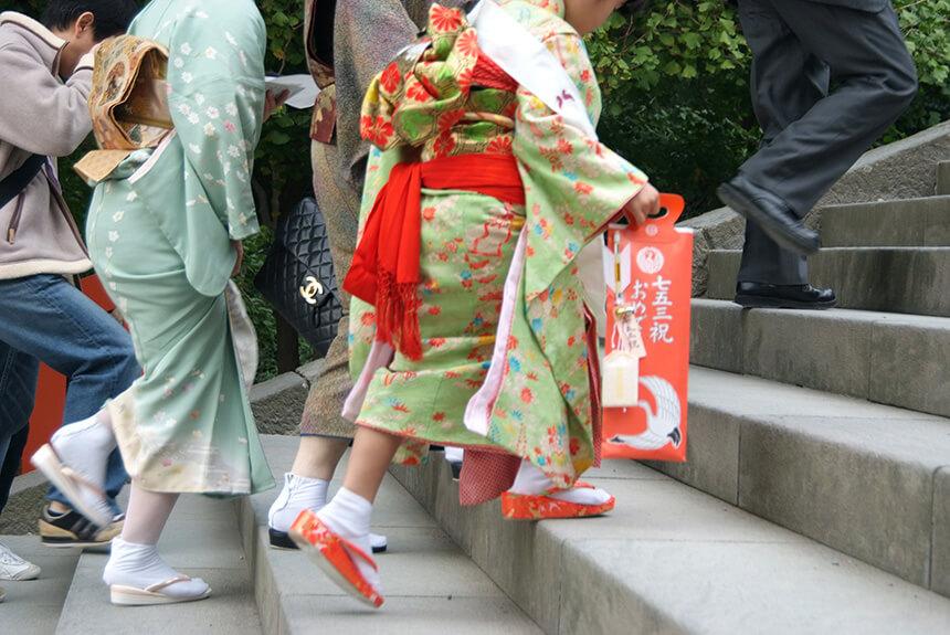 鎌倉『鶴岡八幡宮』で七五三